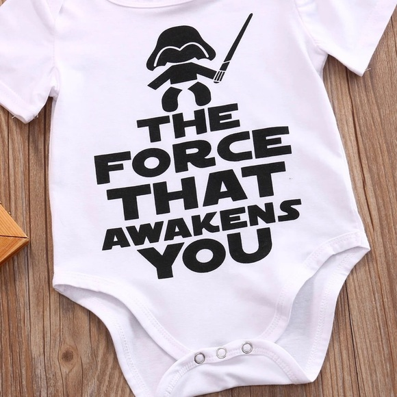 1ff902f23 Boutique One Pieces | Baby Vader Force That Awakens You Onesie ...